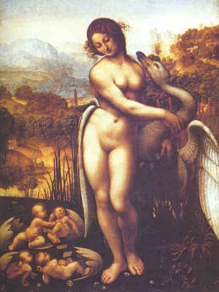 Leda And The Swan -- Wilton House